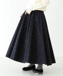 BEAMS BOY(ビームスボーイ)のGRAMICCI × BEAMS BOY / 別注 ブラックウォッチ チノ ロングスカート(スカート)