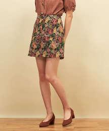 Emsexcite(エムズエキサイト)のゴブラン台形スカート(スカート)