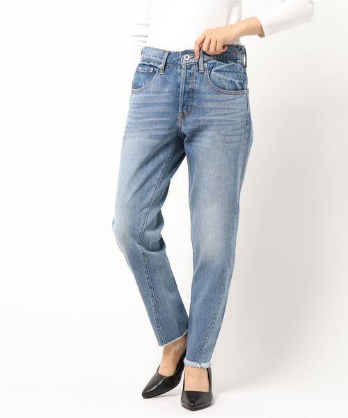 最安値挑戦! BACK TUCK TUCK DENIM(パンツ) ROSE BUD(ローズバッド)のファッション通販, 大きいサイズの店 フォーエル:ddfb5bab --- ruspast.com