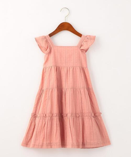 【キッズ】ドビーティアード ワンピース