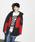 X-girl(エックスガール)の「MOUNTAIN PARKA(ダウンジャケット/コート)」|レッド