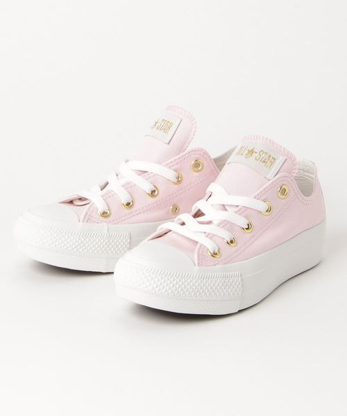 b9bc738eec52 CONVERSE(コンバース)の「CONVERSE ALL STAR PLTS SATINPOINT OX (ピンク)(