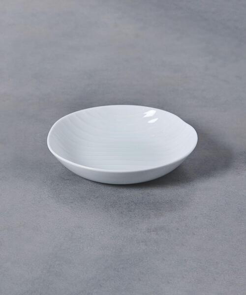<森正洋>シェル 取り皿 白磁