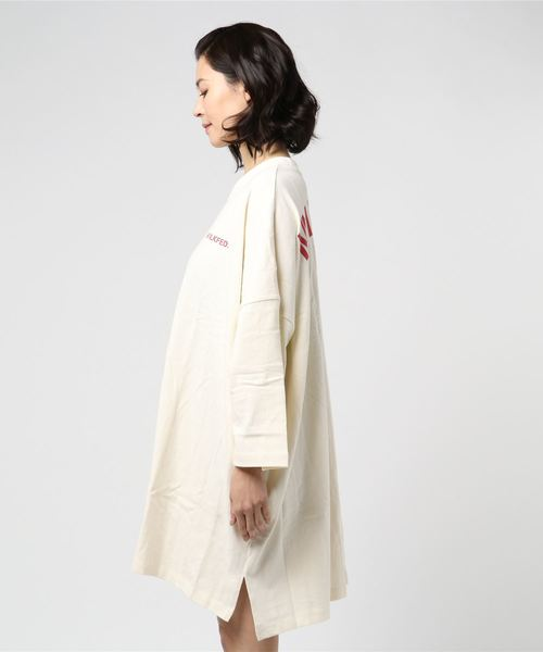STENCIL BIG SILHOUETTE DRESS