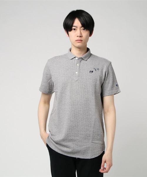 【MASTER BUNNY EDITION】フローラストライプ ポロシャツ