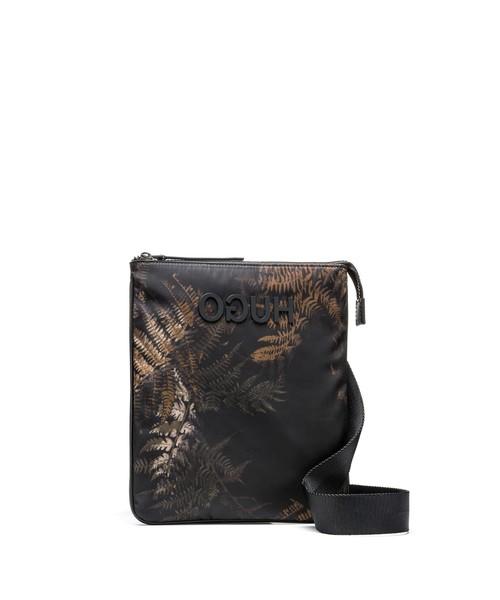 2019高い素材  リーフプリント 「HUGO」リバースロゴ エンベロープ バッグ, おがにっくしぜんかん 093b195b