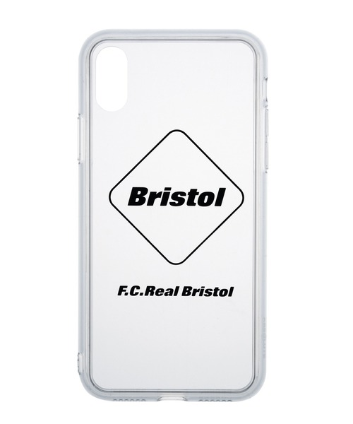 F.C.Real Bristol(エフシーレアルブリストル)の「ABSOLUTE EMBLEM PHONE CASE for iPhone X / XS(スマホケース/カバー)」 ブラック