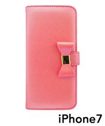 fc4d3ba8f1 UNiCASE BLUE LABEL(ユニケース ブルー レーベル)の「Ribbon Diary for iPhone8/7