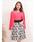 Dear Princess(ディアプリンセス)の「花柄モチーフチェックジャガード コルセット風スカート(スカート)」|詳細画像