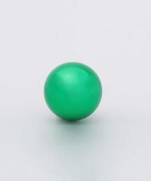 <Preek>HOLLOW CIRCLE EARRING GREEN S/ピアス.