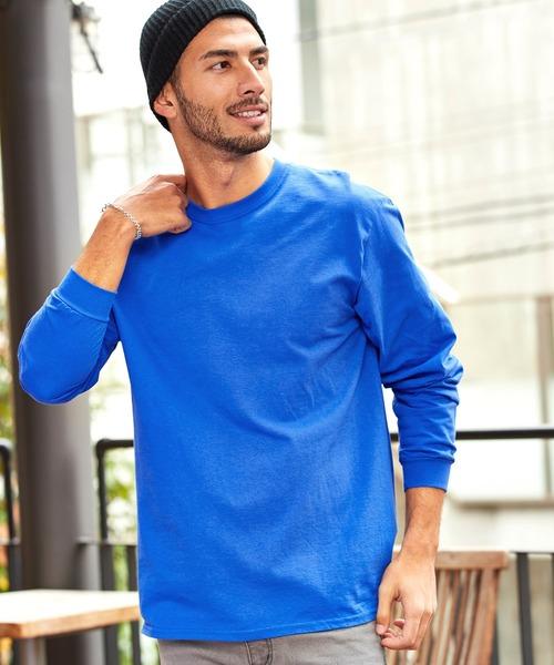 GILDAN/ギルダン  オーバーサイズ クルーネックロングTシャツ