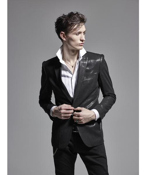 kiryuyrik(キリュウキリュウ)の「Jacket(テーラードジャケット)」|ブラック
