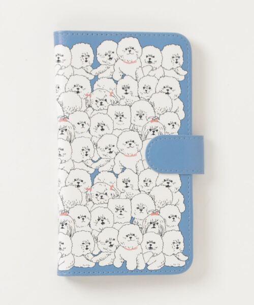 *【 marble sud / マーブルシュッド 】Fluffy Dog スマートフォンケース 09AF049144・・