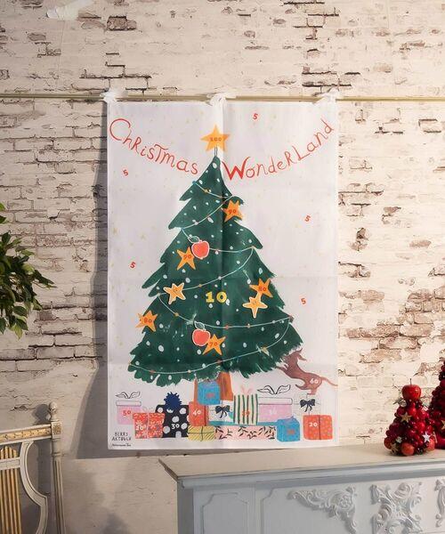 Afternoon Tea(アフタヌーンティー)の「クリスマスタペストリーセットL/ベリー・アクトゥグル(インテリア雑貨)」|ホワイト