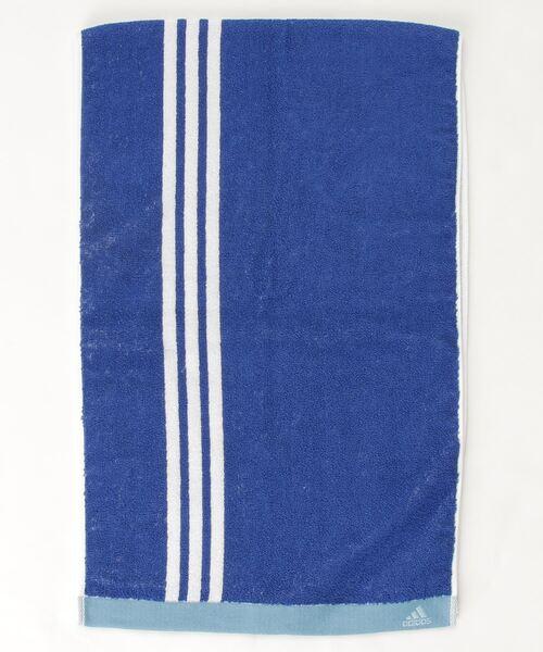 【 adidas / アディダス 】 スポーツタオル ストライプ 06-1285230 towel TOB