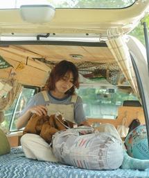 ∴【 PENDLETON × YURIE / ペンドルトン × ユリエ 】ペンドルトン × YURIE ドロー ユーティリティーバッグ2 DRAW UTILITY BAG-2 エコバッグライトグレー