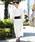 ROCK STE(ロクステ)の「浴衣 5点 SET【 浴衣 + 帯 + 下駄 + 扇子 + 信玄袋 】 メンズ 浴衣セット 夏 大人の浴衣(浴衣)」|ホワイト