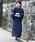 ROCK STE(ロクステ)の「浴衣 5点 SET【 浴衣 + 帯 + 下駄 + 扇子 + 信玄袋 】 メンズ 浴衣セット 夏 大人の浴衣(浴衣)」|ブルー系その他2