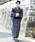 ROCK STE(ロクステ)の「浴衣 5点 SET【 浴衣 + 帯 + 下駄 + 扇子 + 信玄袋 】 メンズ 浴衣セット 夏 大人の浴衣(浴衣)」|ブラック