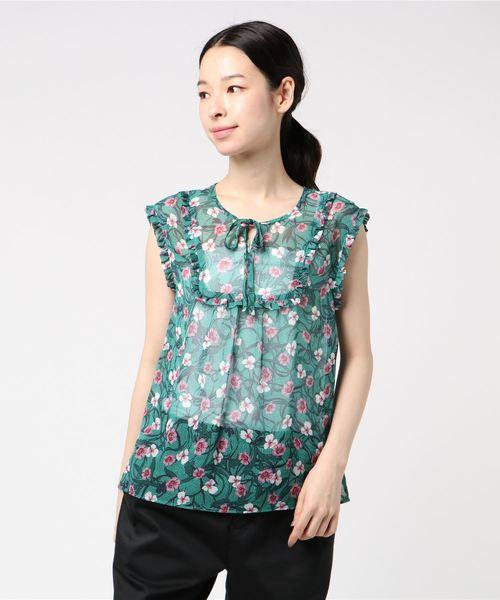 【サイズ交換OK】 【セール】ドットフラワーフリルブラウス(シャツ/ブラウス)|Loulou Willoughby(ルルウィルビー)のファッション通販, S.sakamoto:f9afc48a --- kredo24.ru