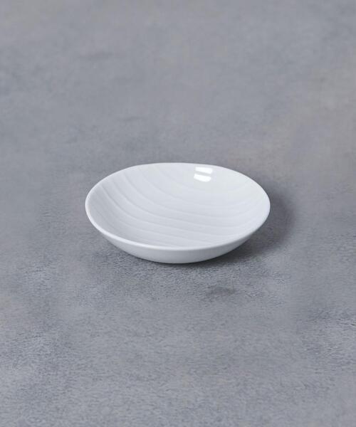 <森正洋>シェル 小皿 白磁
