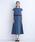 merlot plus(メルロープリュス)の「サイドプリーツワンピース1665(ドレス)」|詳細画像