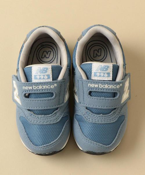 New Balance(ニューバランス)の「◆NEW BALANCE(ニューバランス)IV996C 14cm-16.5cm/h(スニーカー)」|コバルトブルー