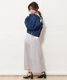 Supreme.La.La(シュープリーム ララ)のシャイニープリーツスカート(スカート)