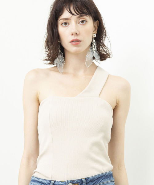 【THE Dallas】One shoulder cami D9S-33
