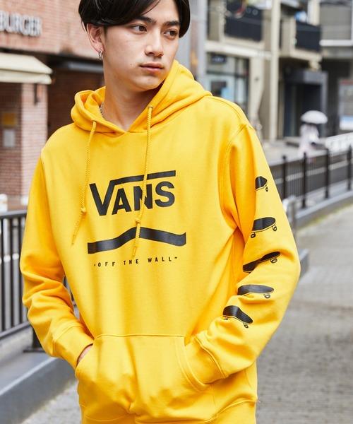 VANS/ヴァンズ Primary Color Pull Hoodie ロゴプリントオーバーサイズパーカー