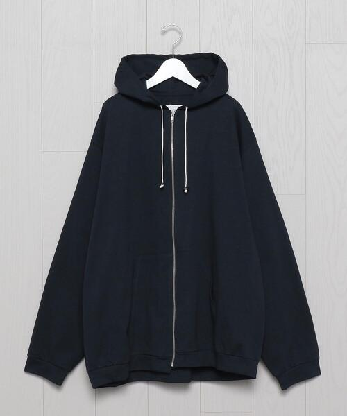 <CAMIEL FORTGENS>HOODED JERSEY/パーカー.