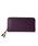 Epoi(エポイ)の「シキ ラウンドファスナー長財布(財布)」 ブルーパープル
