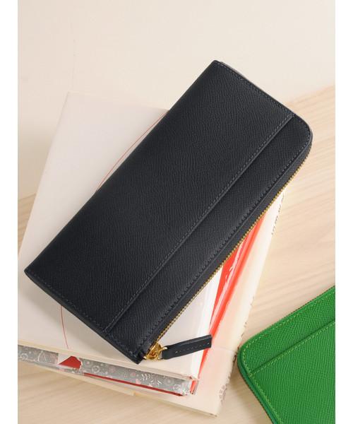 bf9a2b209207 フランス製レザー長財布(財布)|HALEINE(アレンヌ)のファッション ...