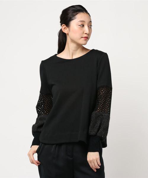 【2018年製 新品】 デザイン切り替えスリーブスウェット(Tシャツ/カットソー)|HERENCIA(ヘレンチア)のファッション通販, カノアシグン:c3588d49 --- skoda-tmn.ru