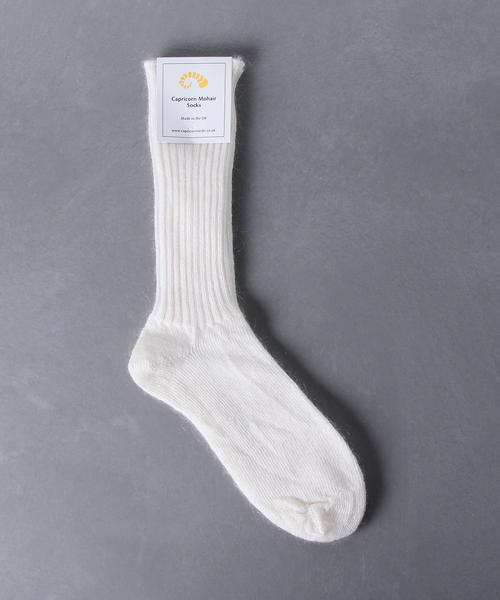 <Capricorn Mohair Socks(カプリコーンモヘアソックス)> モヘアソックス