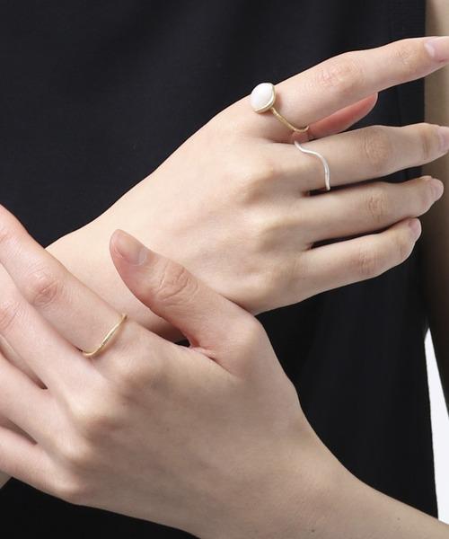 【堀溝商店】ガラスリングセット glass ring set HMI