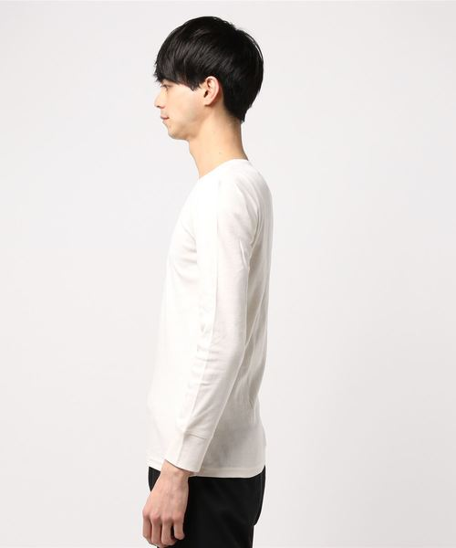 Pack T/フライスL/S TEE