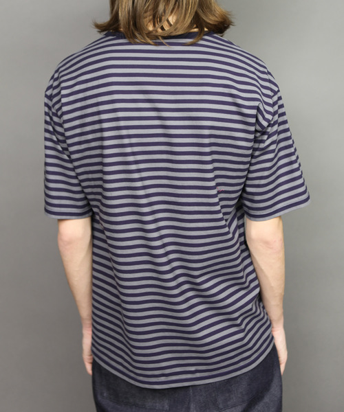 60/2T-CLOTH BORDER T-SHIRT