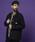 MR.OLIVE(ミスターオリーブ)の「【セットアップ対応】ヘビー コットン カルゼ/ワーカーズ  ショート カバーオール(カバーオール)」|ネイビー