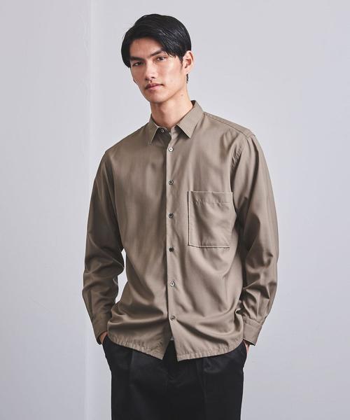 春夏新作 <UNITED ARROWS> ARROWS> WOOL レギュラーカラーシャツ†(シャツ WOOL/ブラウス) UNITED|UNITED ARROWS(ユナイテッドアローズ)のファッション通販, 愛別町:826a81cd --- tsuburaya.azurewebsites.net