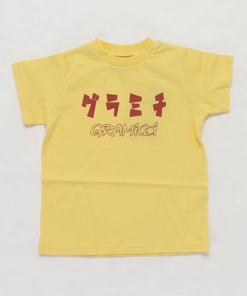 【 GRAMICCI / グラミチ 】KIDS GRAMICCI KANA TEE GKT-20S208-K