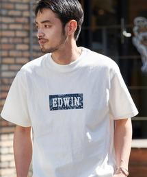 EDWIN/エドウィン BASIC PRINT H/S TEE BOXロゴプリント半袖Tシャツホワイト系その他2