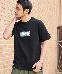 EDWIN/エドウィン BASIC PRINT H/S TEE BOXロゴプリント半袖Tシャツブラック系その他2