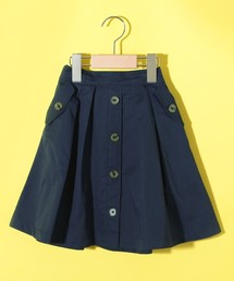 HusHusH(ハッシュアッシュ)の【150cmまで】チノボタンスカート(スカート)