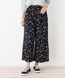 花柄ジョーゼットパンツ(パンツ)