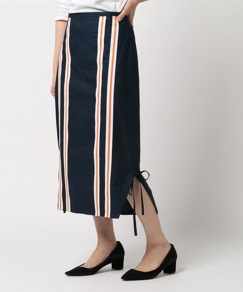 世界的に有名な 【セール Side】Stripe Side Skirt Drawstring Skirt High Drawstring Summer(スカート)|KENZO(ケンゾー)のファッション通販, 池田屋:31566f95 --- kredo24.ru