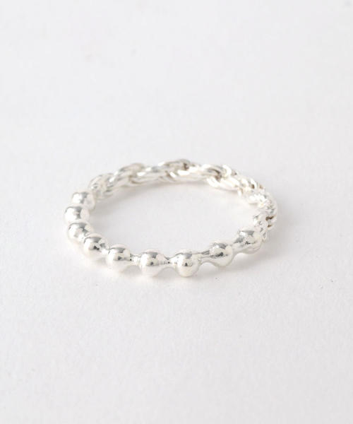 <WWW. WILL SHOTT> 2LINK FUSED RING/リング