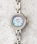 ラウンドフェイスソーラーウォッチ 【AGETE36SV時計】(腕時計)