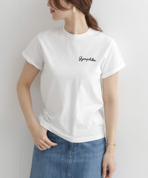 GYMPHLEX(ジムフレックス)のGYMPHLEX COMBED COTTON JERSEY T-SHIRTS(Tシャツ/カットソー)