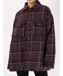 jouetie(ジュエティ)のウールライクシャツジャケット(テーラードジャケット)